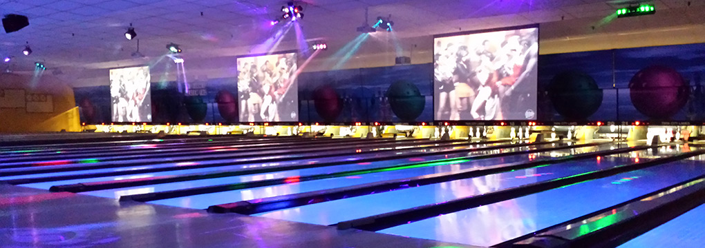 cosmic bowling laser lights music barre vt montpelier